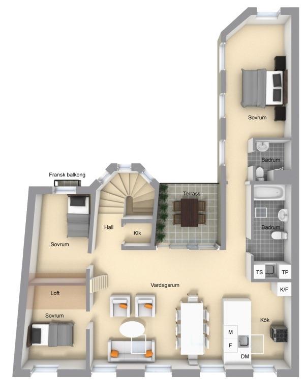 Casa Stile Loft Industriale e Shabby Chic