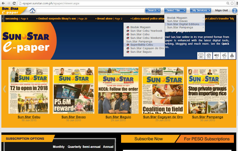 SunStar electronic papers