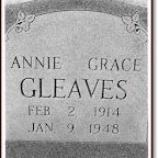 Annie Grace Gleaves Daughter of John Lawrence