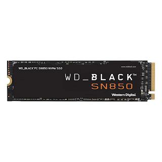 Western Digital WD Black™ SN850 1TB, PCIe Gen 4 SSD 7000MB/s R, 5300MB/s