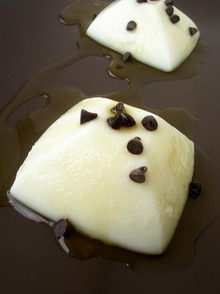 budino di latte con farina di riso