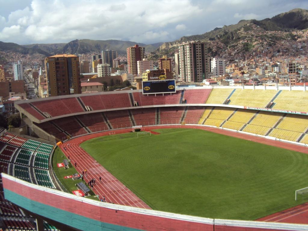 Estadios mas grandes de Sudamérica por país