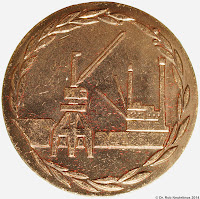 194c Verdienstmedaille der Seeverkehrswirtschaft in Bronze www.ddrmedailles.nl