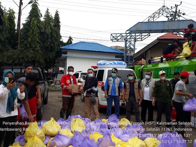 SMK-PPN Banjarbaru Salurkan Bantuan Korban Banjir Kalsel