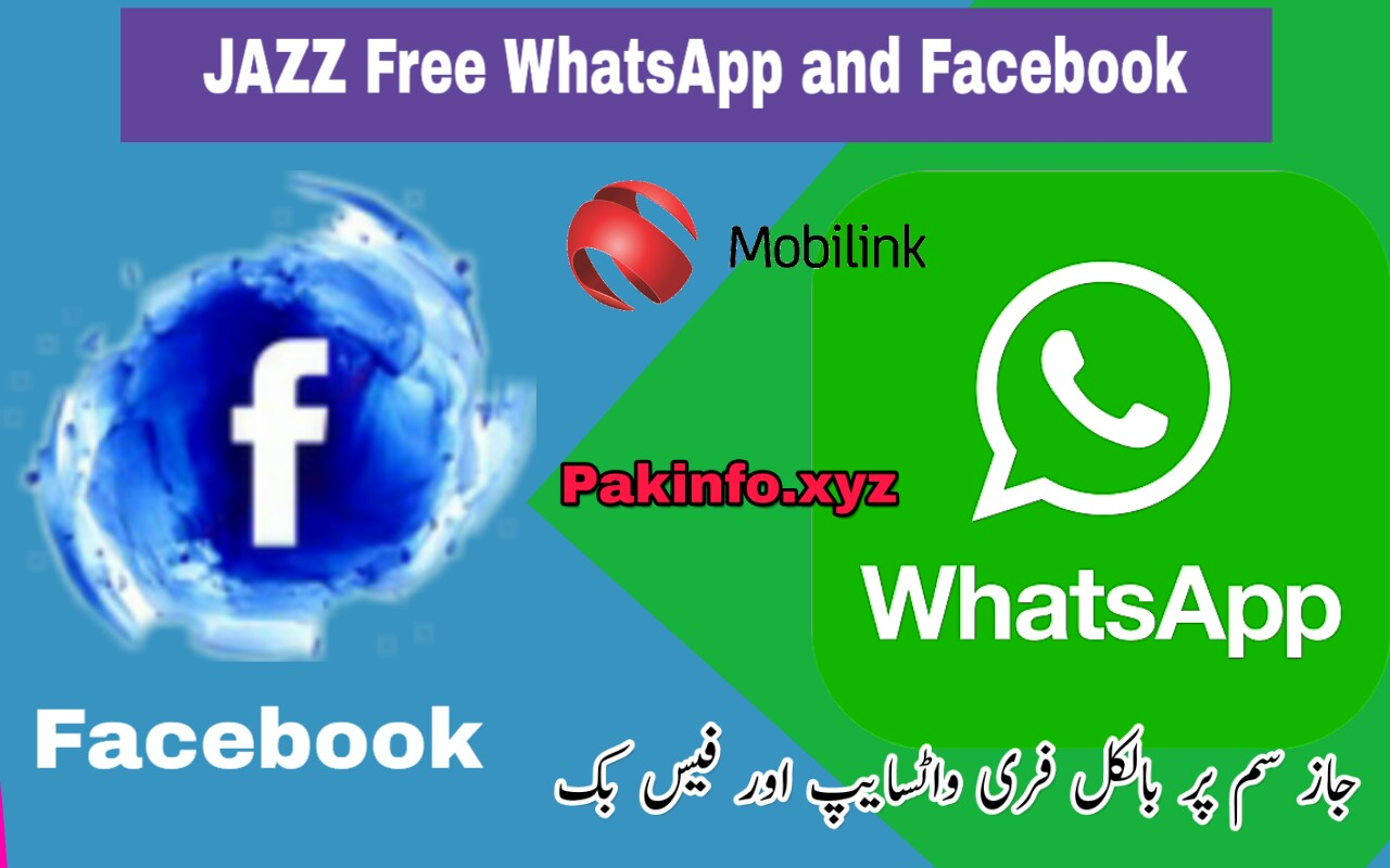 jazz Free WhatsApp Or Free Facebook