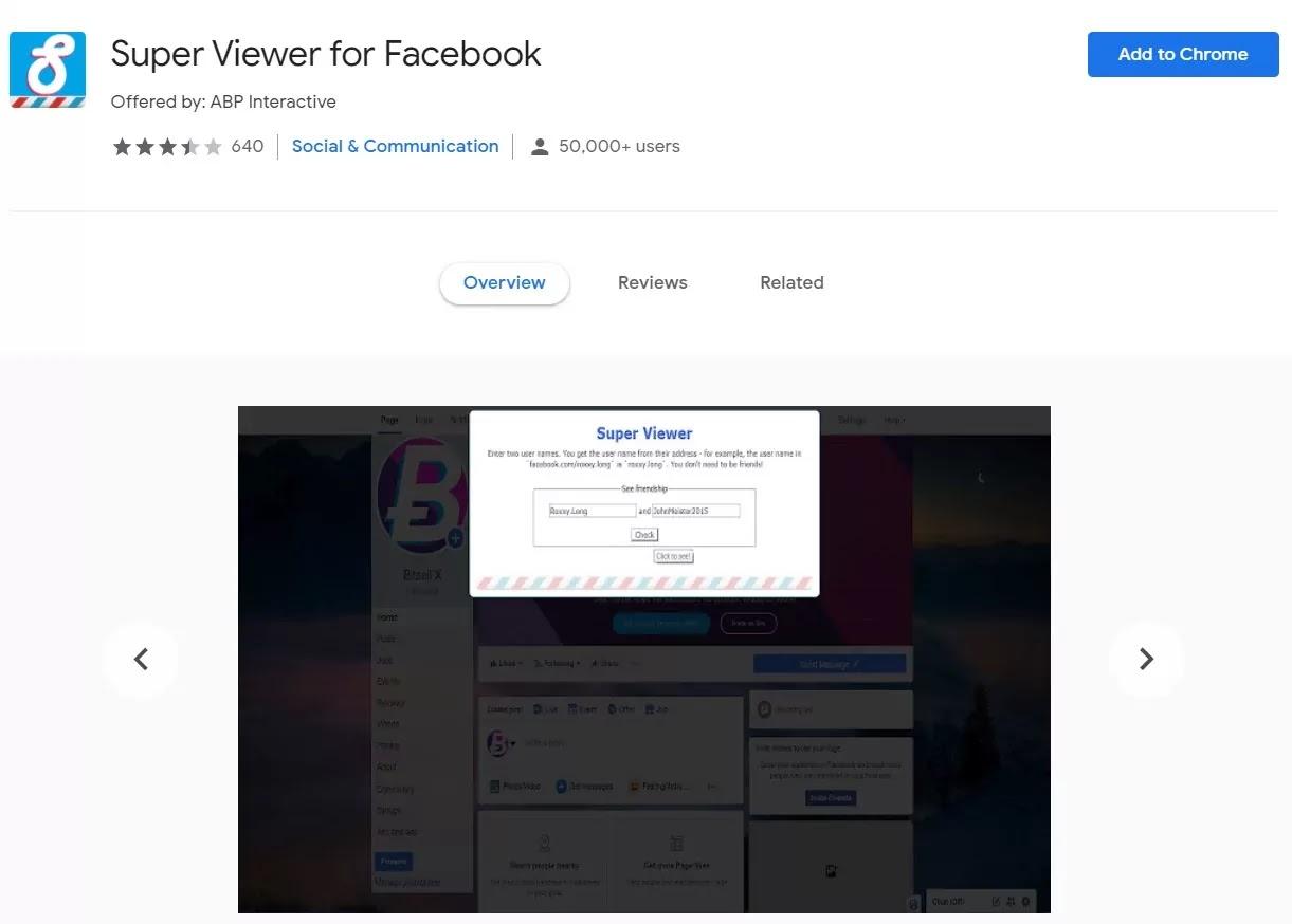 Super Viewer for Facebook