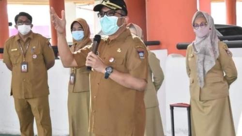 Permudah Pelayanan IMB, DPMPTSP Kota Padang Gunakan SIMBG, Ini Harapan Wawako Hendri Septa.