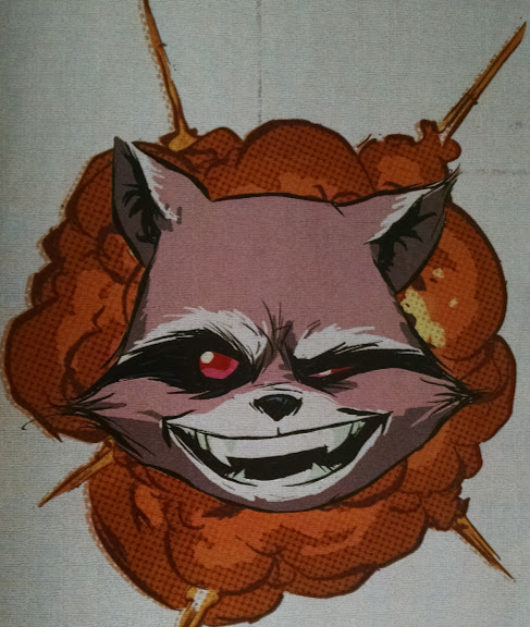 Rocket Raccoon symbol