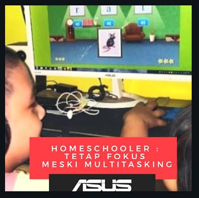 Tetap Fokus meski Multitasking ASUS S14 s433