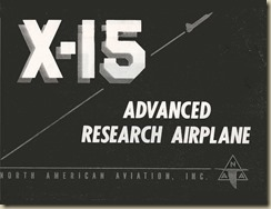 North American X-15 Design Summary