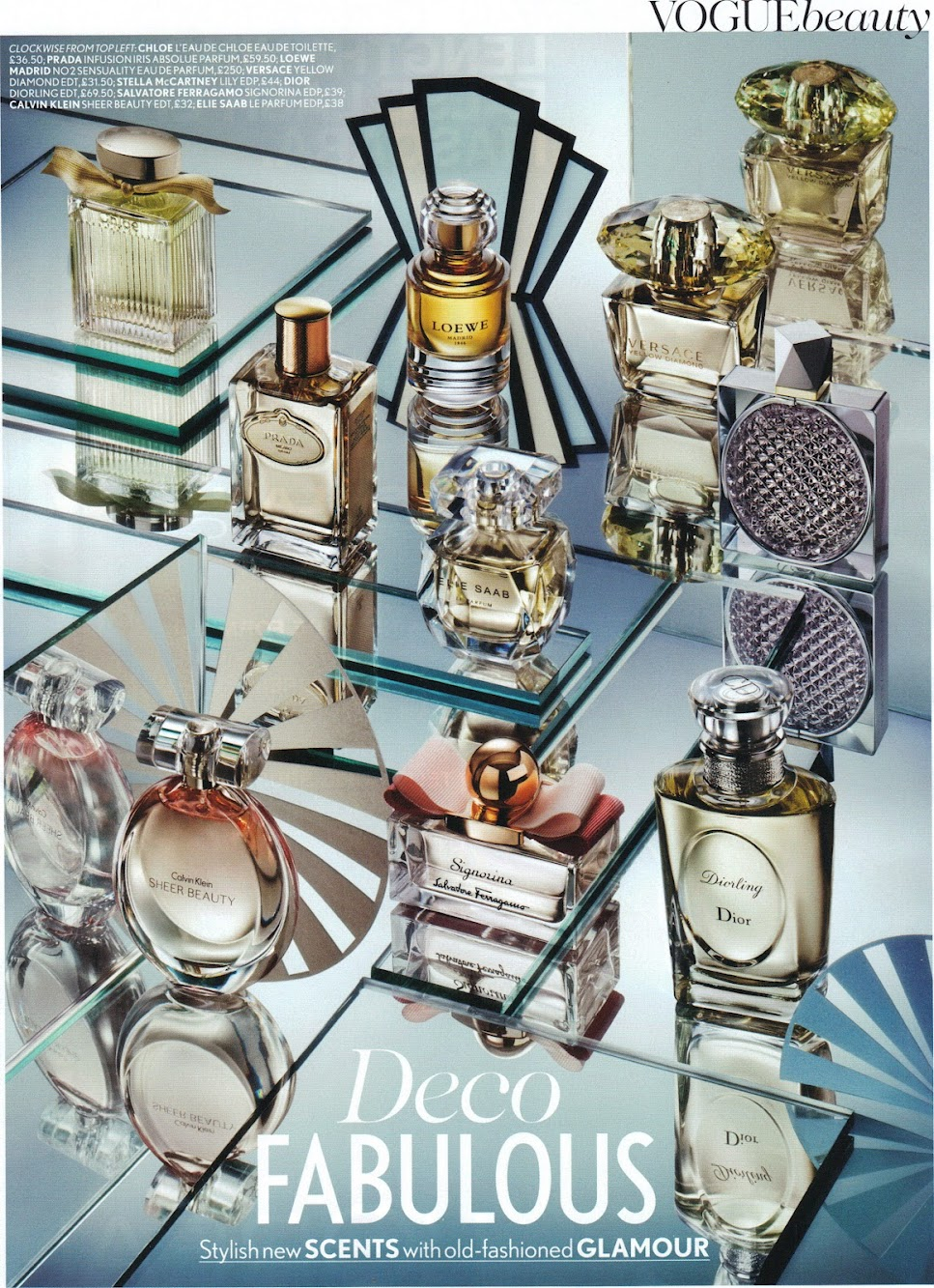 British Vogue February [Perfume Ads]