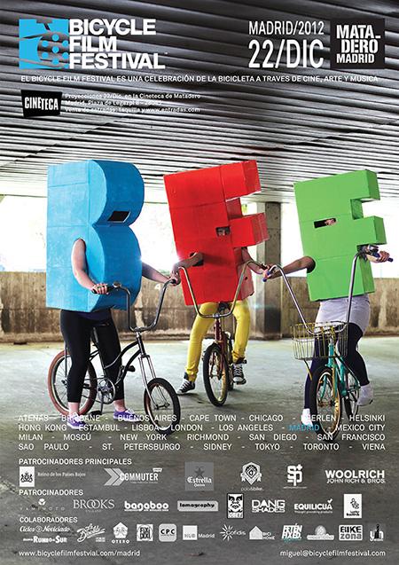 Madrid Bicycle Film Festival. Festival sobre el mundo de la bicicleta en Matadero Madrid