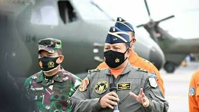 Bantu Pencarian Pesawat Sriwijaya Air SJ-182, TNI Kerahkan 10 KRI Dan Terjunkan Personil Korps Marinir Pasukan Khusus Denjaka Dan Pasukan Intai-Taifib