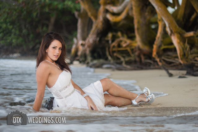 trash the dress hawaii photography