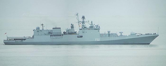INS Tarkash - F50 - Missile Frigate - Indian Navy - 01-TN