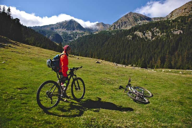 In cautarea unui loc propice de abandonat bicicletele.