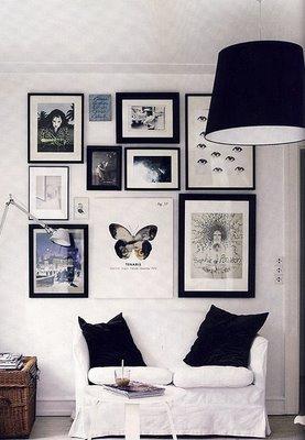 Decora tu vida paredes con cuadros o cuadros hechos pared - Cuadros paredes decoracion ...