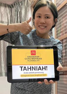 Cikgu Ling Fong, Pemenang Anugerah Guru Inspirasi McDonalds 2021