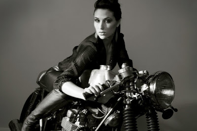 Cafe Racer Girl