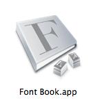 Font Bookアイコン