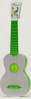 kiwaya plastic peace green soprano at Lardy's Ukelele Database