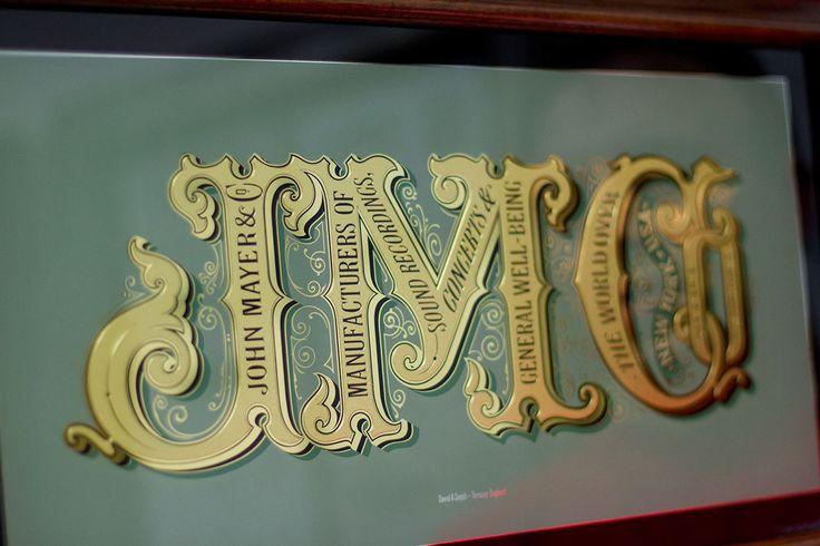 Những tác phẩm typography pha trộn truyền cảm hứng