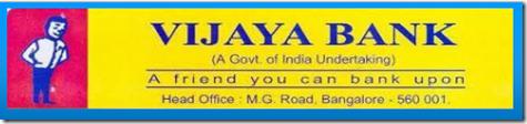 Vijaya Bank Probationary Manger Recruitment 2017