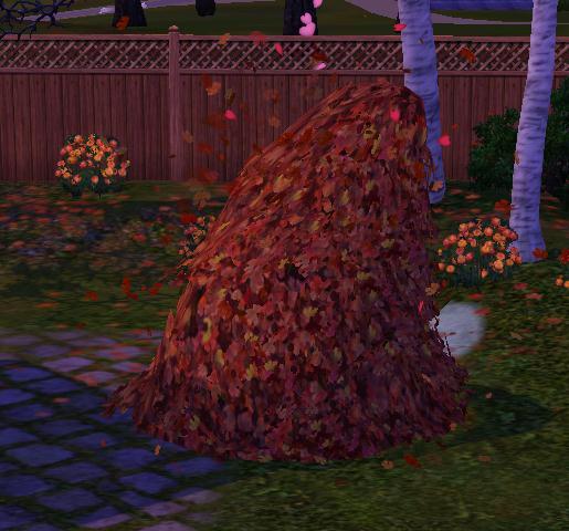 Ñiqui-ñiqui entre las hojas