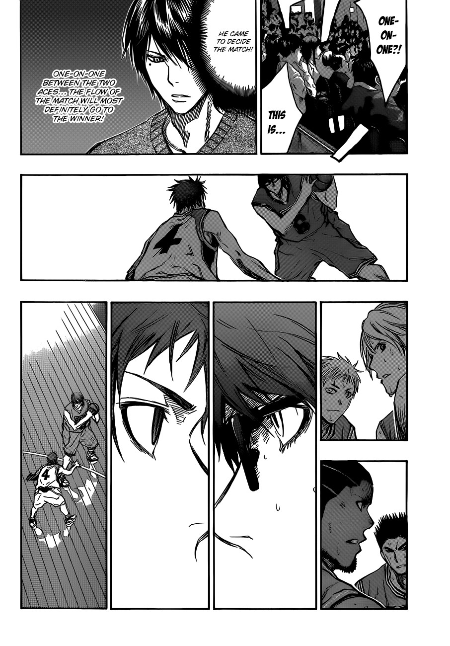 Kuroko no Basket Manga Chapter 178 - Image 14