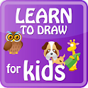 Children learn to draw free icon