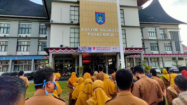 Foto: Sekda Rida Warning ASN Pemko Payakumbuh.
