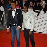 WWW.ENTSIMAGES.COM -    Rickie Haywood Williams and Melvin O'Doom   arriving at   MOBO Awards 2014 at SSE Arena Wembley October 22nd 2014Annual awards show recognising the best in urban music which is supported by HTC Photo Mobis Photos/OIC 0203 174 1069