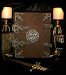 Book Of Shadows And Knife
