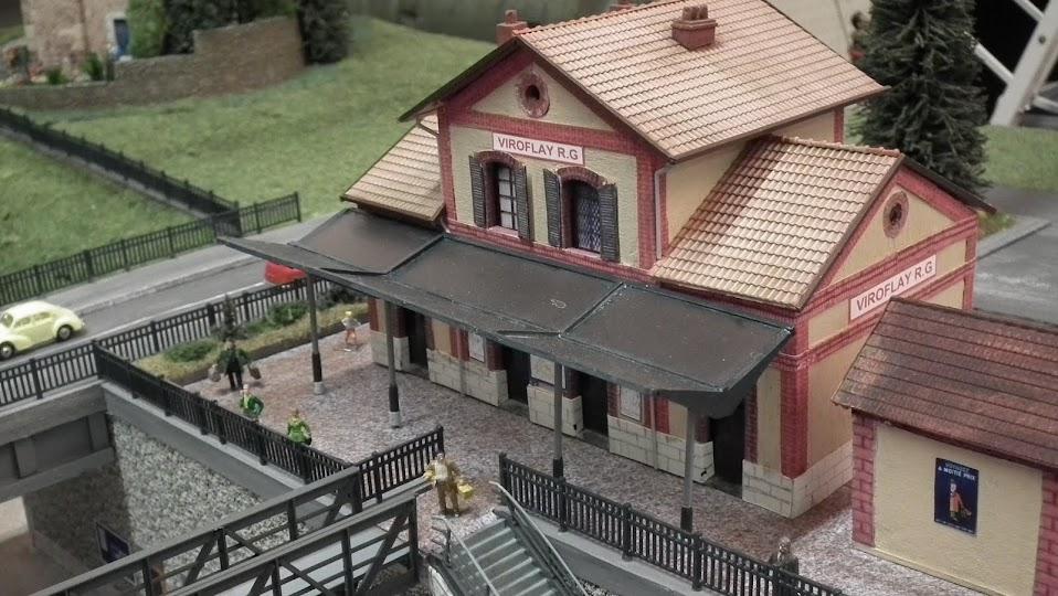 Mali klub željezničkih modelara u Francuskoj Gare+Viroflay+%252849%2529