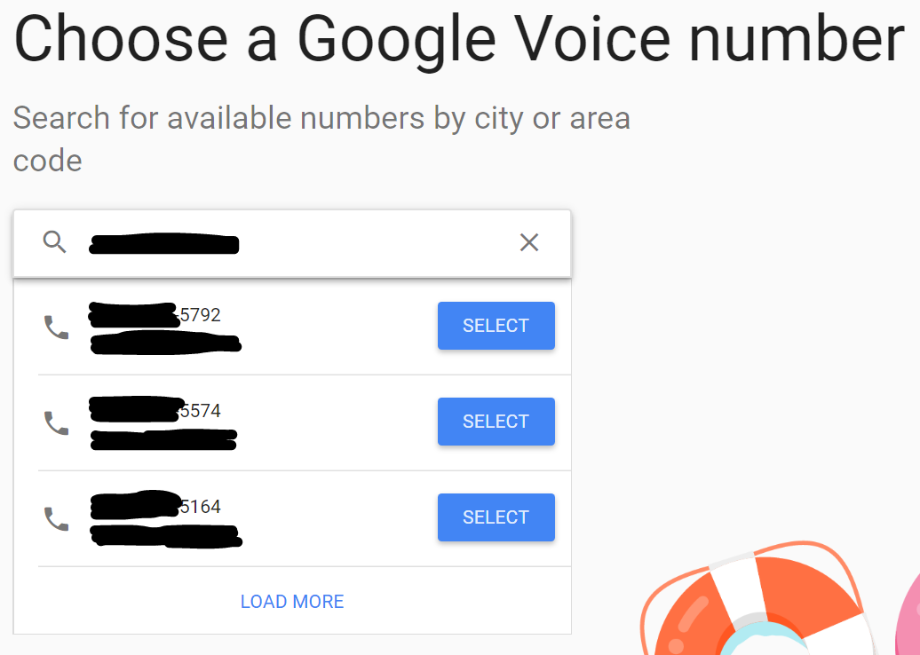 No Google Numbers available - Google Product Forums