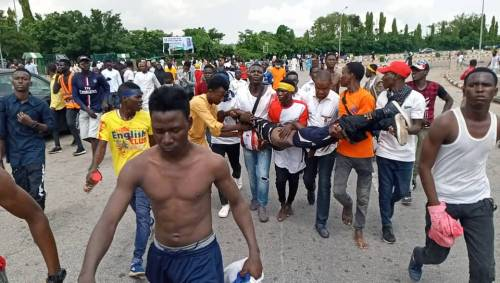 `Get Ready For Another Massive Protest Tomorrow; Shiites blows hot, Dare Police