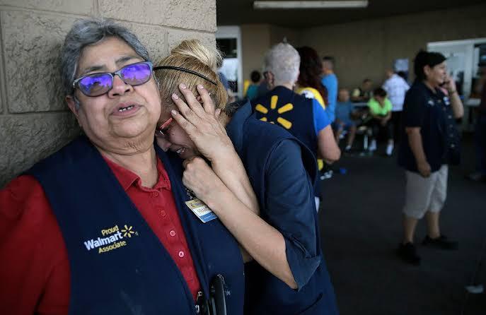 El Paso shooting in Texas, US. PHOTO | NYT