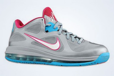 nike lebron 9 low gr silver pink blue 2 01 Nike LeBron 9 Low   Summer 2012   Catalog Images