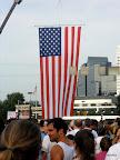 Last shot of the giant flag, I promise!