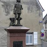 Statue Jean Racine enfant
