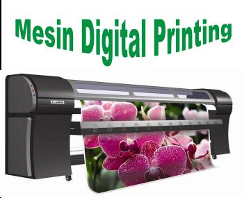 Mengenal Mesin Digital Printing