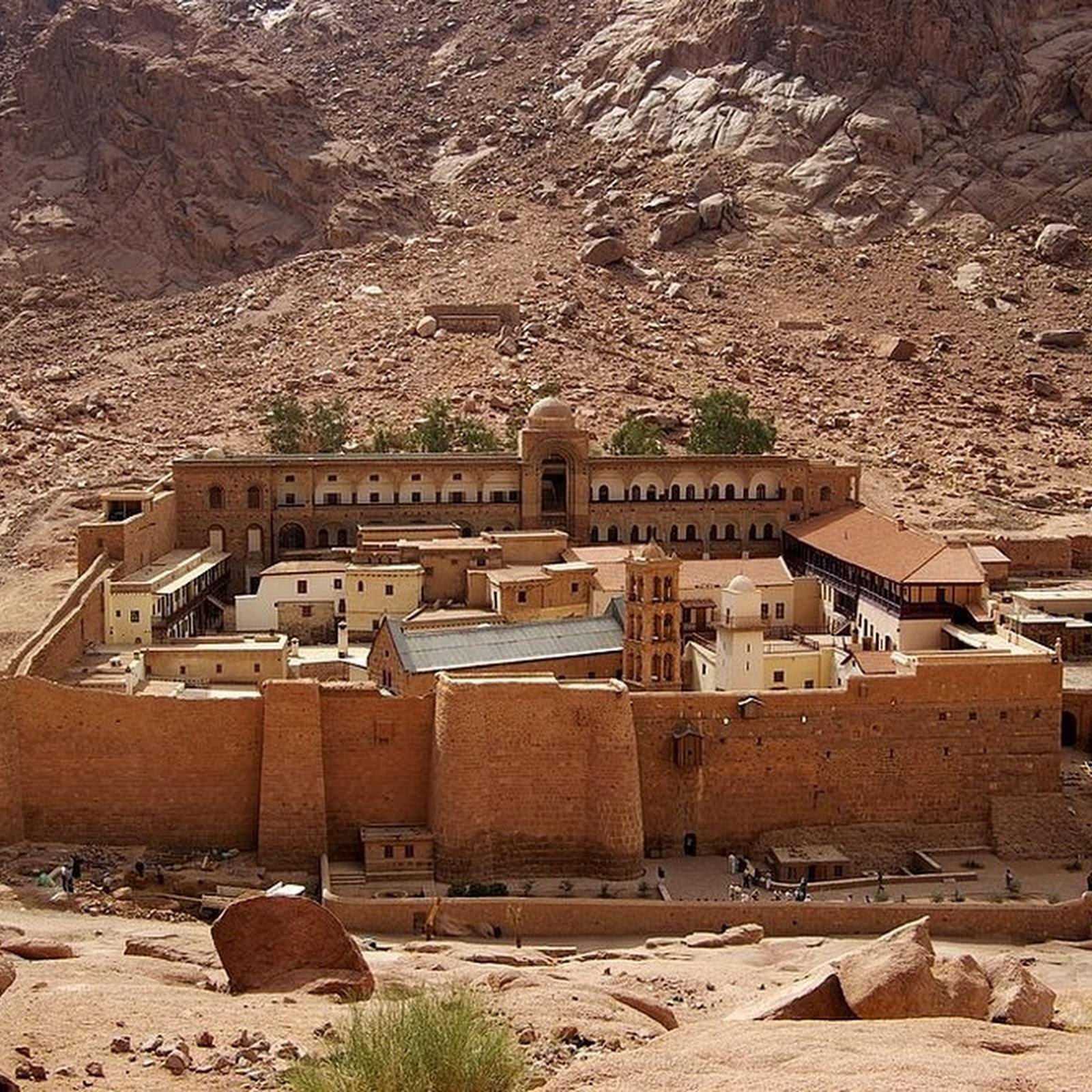 Saint Catherine's Monastery And The World's Oldest Library