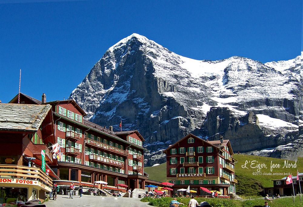 testclod l 39 eiger un des plus beaux sommets des alpes suisses. Black Bedroom Furniture Sets. Home Design Ideas