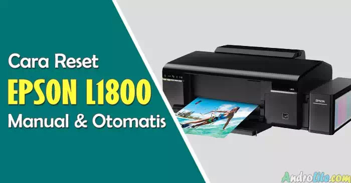 How to Reset Plus Resetter Epson L1800 Software