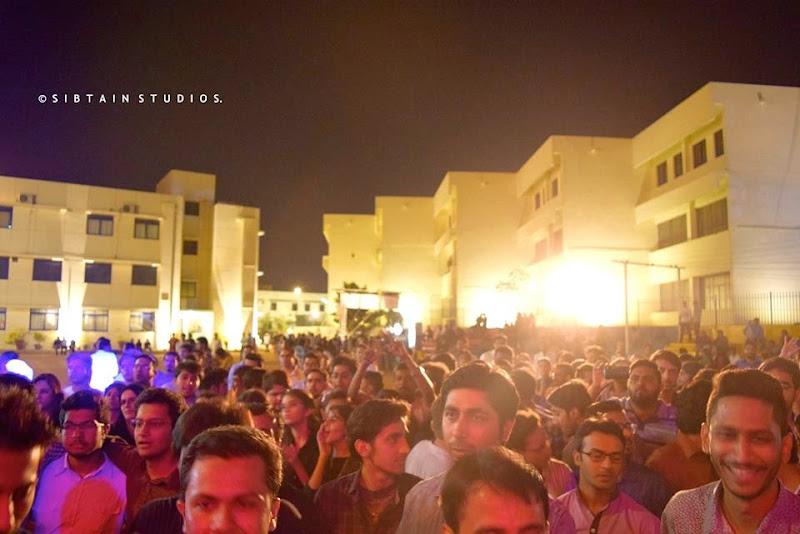 ali azmat in concert at the karachi school for business