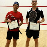 4.0 Consolation Finalists, Marc Ducharme (Champion) and Chris Storm, Brattleboro, March 15th
