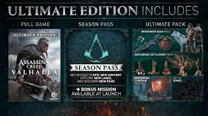 Assassin's-creed-valhalla-Ultimate-edition, Assassin's-creed-valhalla-Ultimate-edition-price