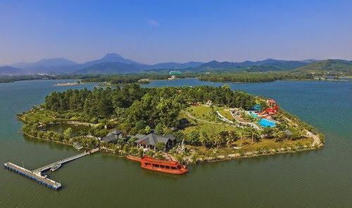 Hồ Đại Lải, hấp dẫn đảo Ngọc