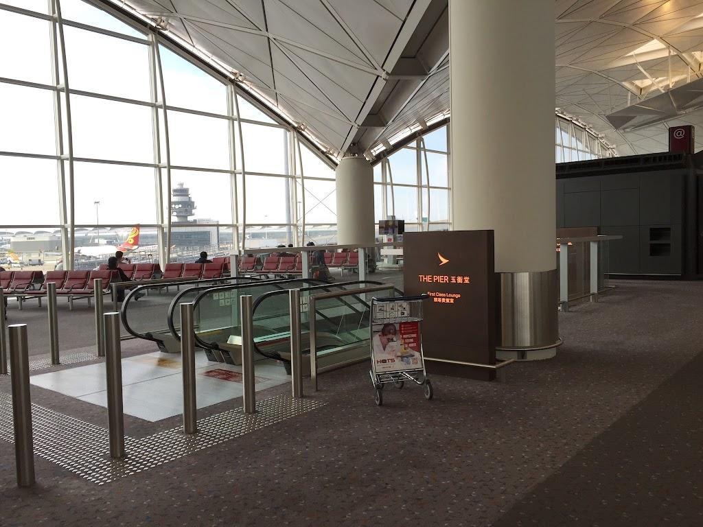 キャセイパシフィック航空 ザ・ピア・ファーストクラスラウンジ(香港国際空港)