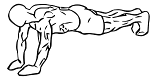 Push-ups for Triceps